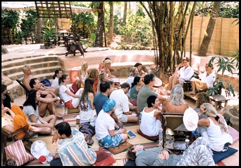 Satsang Meeting in India